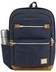 Travelon Mens Anti-Theft Heritage Backpack, Indigo, One Size