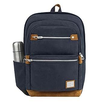 Travelon Men's Anti-Theft Heritage Backpack, Indigo, One Size