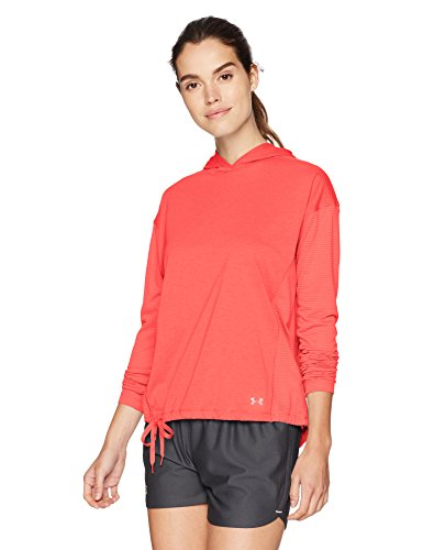 A Maniche Hoody Under Armour Donna Lunghe Threadborne Brilliance Maglia XXIgBw