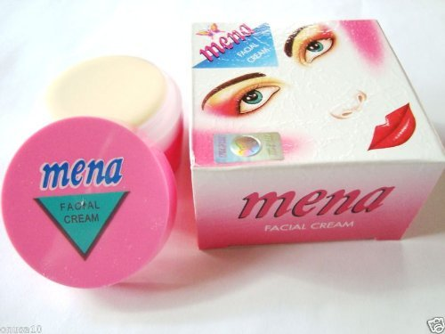 Mena Facial Whitening Cream 6 units, 3g/.1oz each
