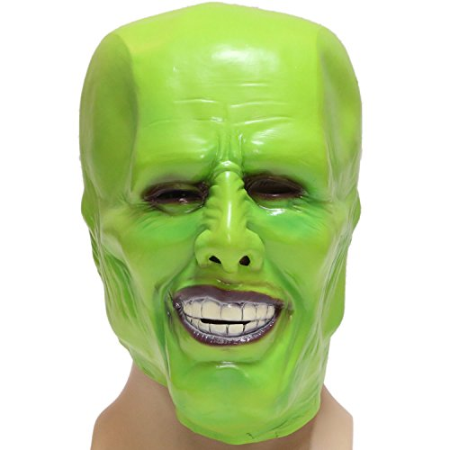 The Mask Costume (The Green Mask Cosplay Prop for Halloween Party)