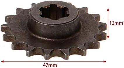 Couleur : 20 Tooth 55mm 47cc 49cc Moto T8F 8mm 11 14 17 20 Dents Pignon Avant Cha/îne Pignon Cha/îne Motocyclettes Drive /& Gears Accessoires X-xiazhi-cl