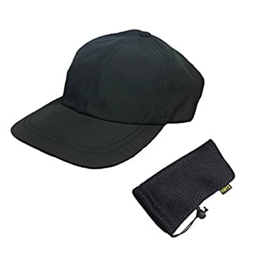 HOTZ Hat w/Travel Bag - Foldable Hat for Outdoors, Travel & Beach