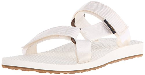 Teva Womens Universal Slide Sandal, Bianco, 36 B(M) EU/3 B(M) UK