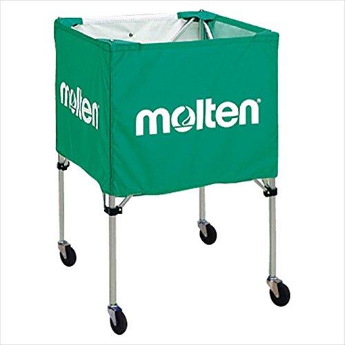molten (モルテン) 折りたたみ式ボールカゴ(屋外用)緑 BK20HOTG 1710 - B076KWS938