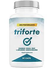 TRIFORTE Men Performance | Kracht + Energie + Testosteron | Voedingssupplement 90 Capsules