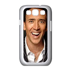 Nicolas Cage Samsung Galaxy S3 9300 Cell Phone Case White as a gift F7916633