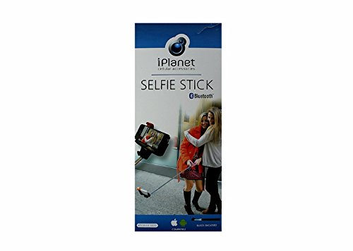 iPLANET Bluetooth Selfie Stick Smartphone Mount Black Facebo