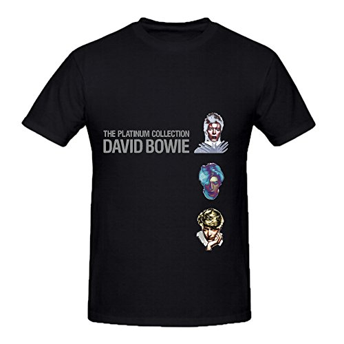 david-bowie-the-platinum-collection-electronica-men-slim-fit-tee-shirts-black