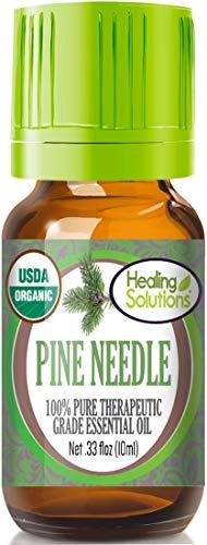 Organic Pine Needle Essential Oil (100% Pure - USDA Certified Organic) Best Therapeutic Grade Essential Oil - ()