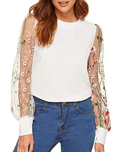 Womens Floral Embroidered photo