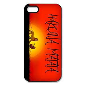 Josephine2855 Custom Your Own Popular Movie The Lion King iPhone 5 Durable Hard Plastic Case Cover