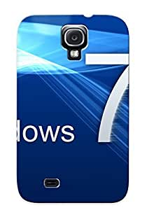 OUSPBcS1029ugHch Tpu Phone Case With Fashionable Look For Galaxy S4 - Windows 7 Case For Christmas Day's Gift