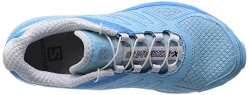Salomon X-Scream 3D Womens Trail Laufschuhe Blau