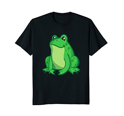 (Mens Toad, Frog Costume Shirt For Any Wildlife Theme party XL Black)