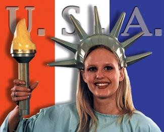 [MorrisCostumes BB12 Statue Of Liberty Set] (Statue Of Liberty Costume Crown)
