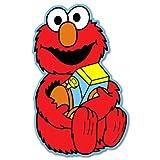 "Elmo Toy Sesame Street vynil car sticker 3"" x 5"""