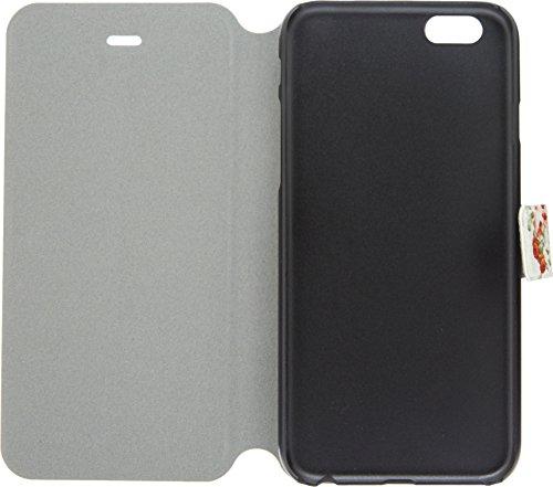 LD A000821 Case Klappetui für iPhone 6, Motiv: bunte Blitzblau