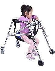 Hersenverlamming Kind Walker Opvouwbare Kinderen Onderste ledematen Training en revalidatie Apparatuur Lopen Staand Frame Lichtgewicht