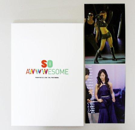 少女時代 ユリ  ファンサイト 写真集 【SO AWWWESOME】 「写真集 1冊 172ページ / 限定ポストカード 2枚」 B00B1M2S3S