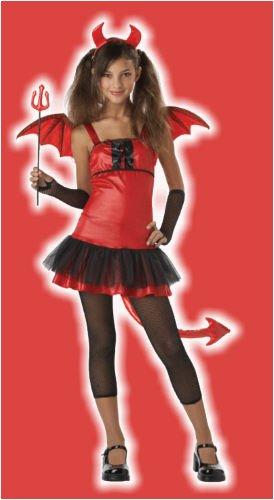 California Costumes Girls Tween Devil Grrrl Costume, Large (Devil Costume For Kids Girls)