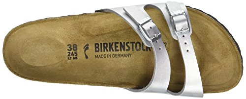 Birkenstock Ibiza - Mules Mujer Plateado (Argent)