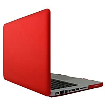 DealMux ordenador portátil de plástico duro Shell rojo del caso para Macbook Pro de 15 pulgadas: Amazon.es: Electrónica