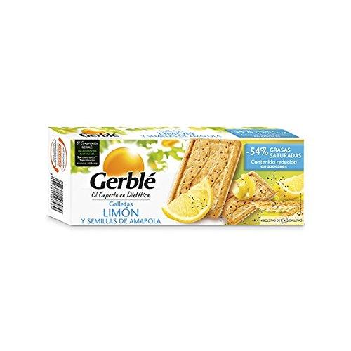 Galletas Limón Y Semillas De Amapola Gerblé 200 G: Amazon.es: Alimentación y bebidas