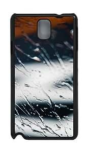 Kagoshima Rain Custom Polycarbonate Hard Case For Samsung Galaxy Note 3 / Note III/ N9000 - Black
