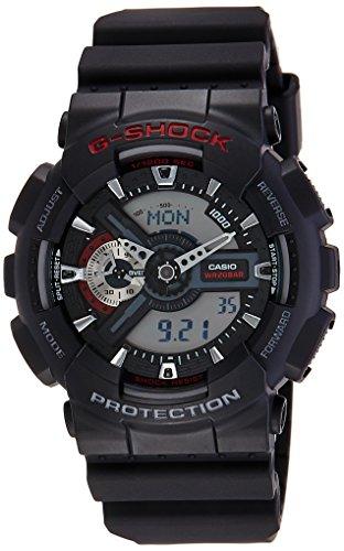 (Casio G-Shock Ana-digi World Time Black Dial Men's watch #GA110-1A [Watch])