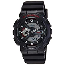Casio G-Shock Ana-digi World Time Black Dial Men's watch #GA110-1A