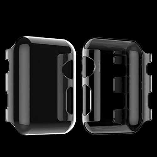 Apple Watch Case,Sunfei Ultra-Slim Cystal Clear PC Hard Protective Case Cover for Apple Watch (42mm) by Sunfei (Image #2)