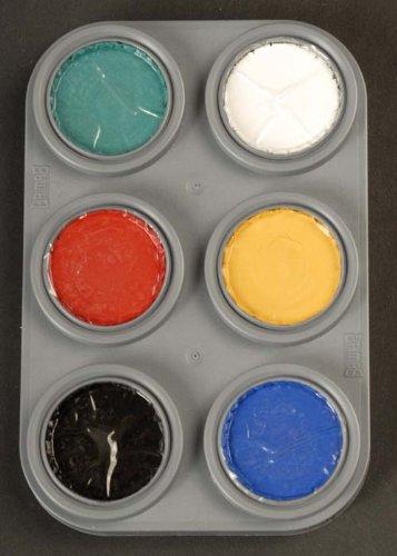 Grimas Water 6 Colour Face Painting Palette A