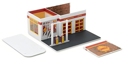 Mechanic's Corner Series 2, Vintage Gas Station Shell Oil 1/64 by Greenlight (Scale Corner)