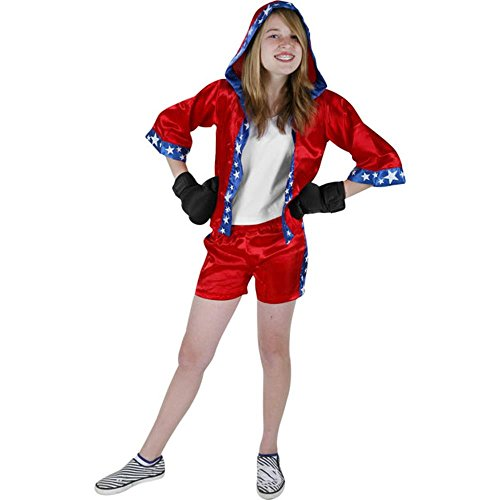 Child's Preteen Boxer Girl Costume (Small 12-14) (Girl Boxer Costumes)