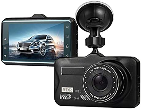 Dash Cam,Dashboard Camera, Frehoy Full HD 1080, 3.0 Screen DVR Car Dashboard Camera Recorder with 170 Wide Angle, Night Vision, G-Sensor, WDR, Loop Recording, Motion Detection, Black