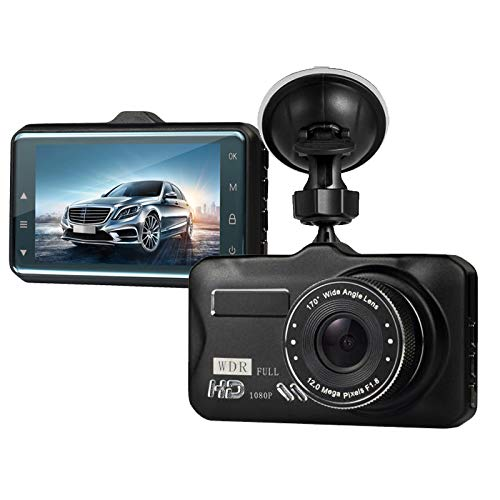 Dash Cam,Dashboard Camera, Frehoy Full HD 1080, 3.0 Screen DVR Car Dashboard Camera Recorder with 170 Wide Angle, Night Vision, G-Sensor, WDR, Loop Recording, Motion Detection, (Black ¡