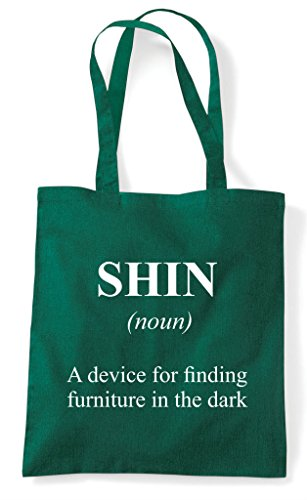 Shin In The Shopper Dark Funny Green Tote Bag Definition Dictionary Alternative Not wIrSrqBX