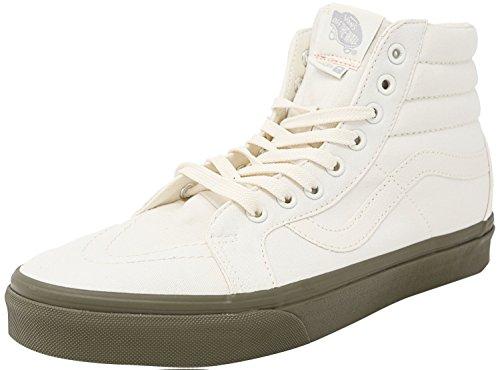 Varebiler Sk8-hi Reissue Vansguard Klassisk Hvit / Eføy Grønne Ankelhøye Lerret Fashion Sneaker - 12m 10.5m