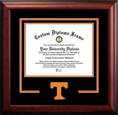 Amazoncom University Of Tennessee Logo Mat Diploma Frame 14 X 17