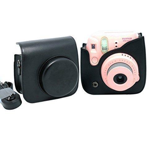 20 opinioni per Gearmax® PU Custodia Borsa In Pelle Per Fujifilm Instax Mini 8 (PU Pelle)(Nero)