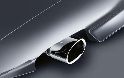 BMW Genuine Exhaust Tailpipe Tip Cover Trim Chrome E85 Z4 2.0i 82120405099