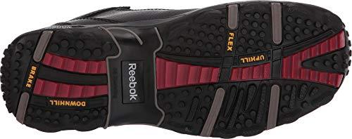 Reebok Women's Tiahawk Waterproof Sport Hiking Boot Composite Toe Black 6.5 D(M) US by Reebok (Image #2)