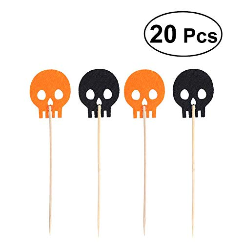 Party Diy Decorations - 20pcs Cupcake Pers Pumpkin Cake Picks Decoration - Party Decorations Party Decorations Electric Ghost Pumpkin Decor Halloween Modern Wedding Plastic Sheer Marriage B]()