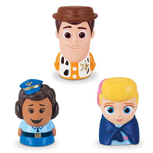 Toy Story Disney Pixar 4 Finger Puppets - 3 Pack - Woody, Giggle Mcdimples, Bo Peep