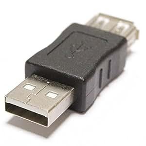 Cablematic - Adaptador USB A-macho a A-hembra