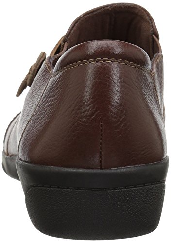Clars para Loafer Cheyn Tan Mujer Madi Tumbled bronceado Leather xfzHAqxwZF