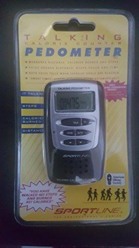 (Sportline Talking calorie counter pedometer)