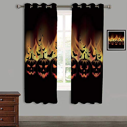 AngelSept Room Darkening Curtains with Grommet Curtains for
