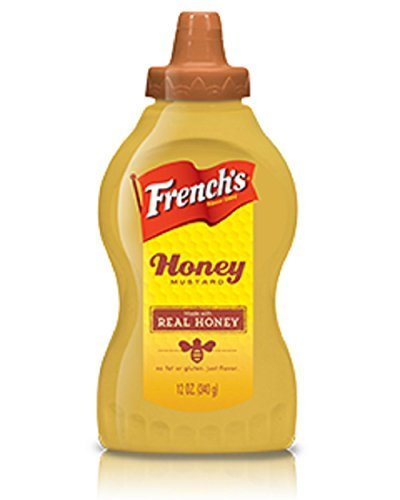 French's, Honey Mustard Made with Real Honey, 12oz Bottle (Pack of 2)